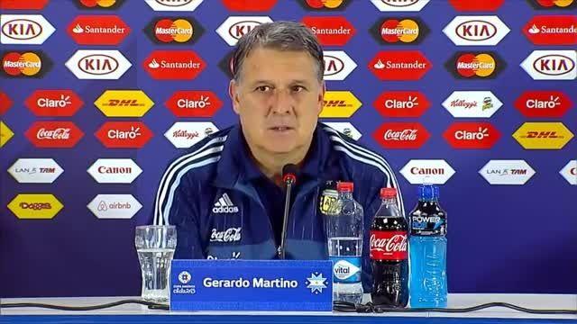 کنفرانس خبری کامل جراردو ماریتنو بعد بازی پاراگوئه