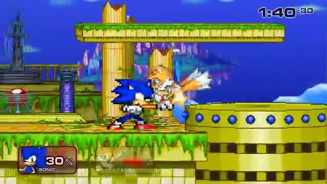 1 Sonic VS Tails