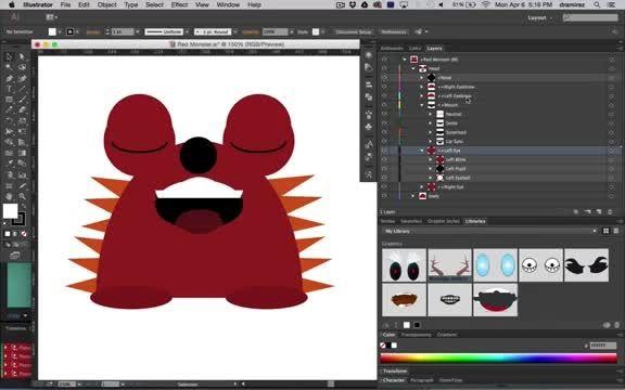 نرم افزار Adobe Character Animator