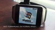 نصب ویندوز ۹۵ بر روی ساعت هوشمند
