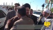 استقبال مردم شهید پرور آبادان از آیت الله سید حسن خمینی