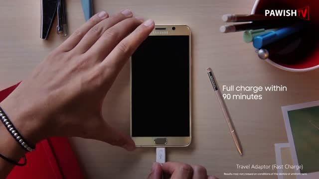 معرفی رسمی Samsung Galaxy Note 5