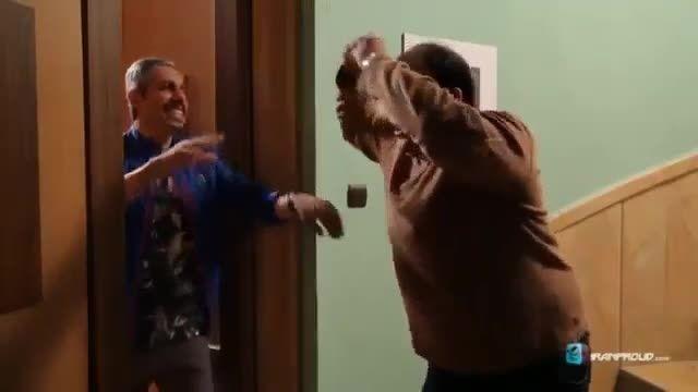رقص طنز مهران غفوریان و جواد رضویان