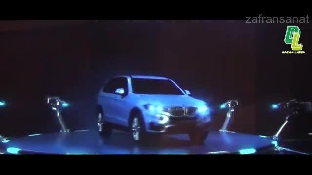 نور پردازی زیبای سه بعدی BMW X5