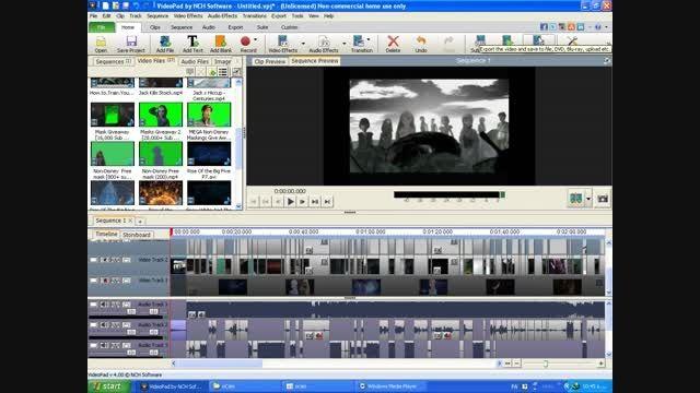 آموزش سیو در Video Pad (درخواستی)