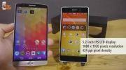 مقایسه گوشی های LG G3 و Sony Xperia Z2
