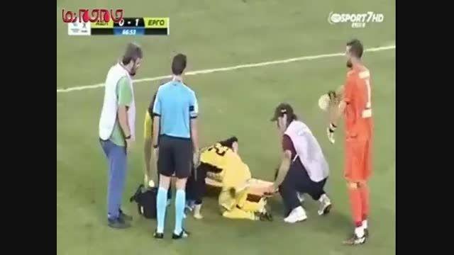 امدادگران ناشی در زمین فوتبال فیلم گلچین صفاسا