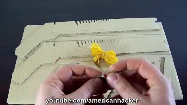 ساخت یک اسلحه،نشانه دارشلیک مجموعه تیرکشی بامقوا(ساخت)