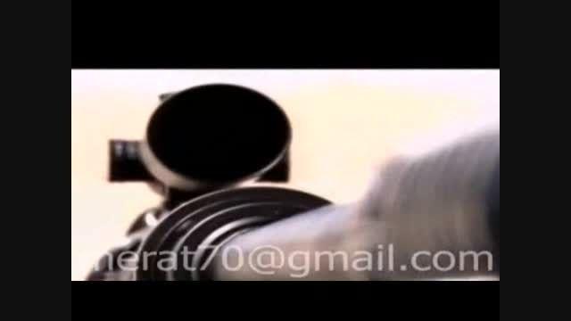 خودرو تاکتیکی نینوا - سلاح تک تیرانداز شاهر