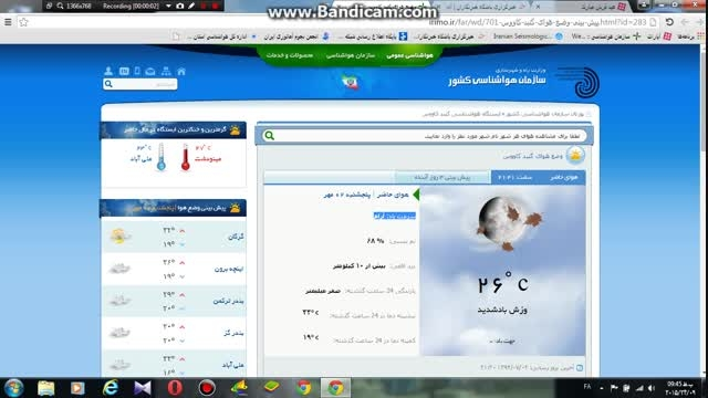سوتی سایت سازمان هواشناسی