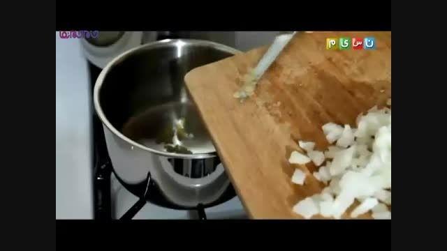 خوراک جوجه بوریتو_آموزش آشپزی طرز تهیه+فیلم ویدیو کلیپ