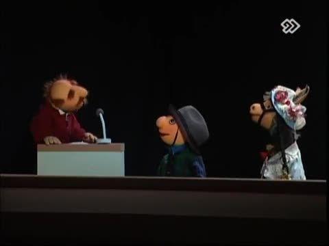 تلاش باحال عروسک های کلاه قرمزی برای خنداندن حامد بهداد