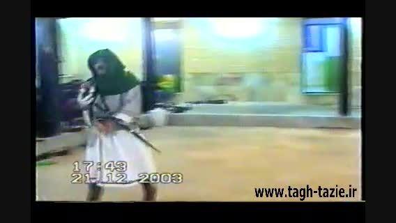تعزیه جناب مسلم روستای طاق شهرستان دامغان اسفند 1381
