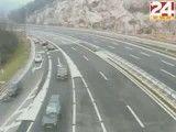 عجیب ترین صحنه های رانندگی در اتوبان ها