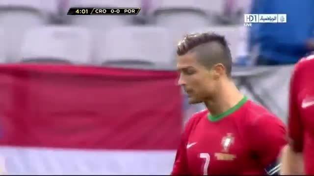 هایلایت بازی کامل کریستیانو رونالدو مقابل کرواسی(2013)