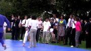 تور تبلیغاتی جودو - آموزش جودو به باراک اوباما