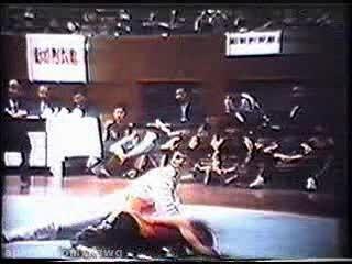 ووشو؛ اجرای مبارزه سنتی دو نفره، دهه 80 میلادی