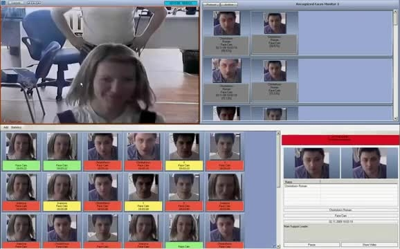 Axxonsoft Face Intellect -تشخیص چهره در نرم افزار اکسون
