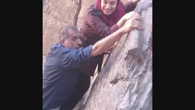 خاطره کوهنوردی نجمه