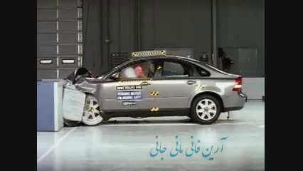 تست تصادف Volvo S40 crash test