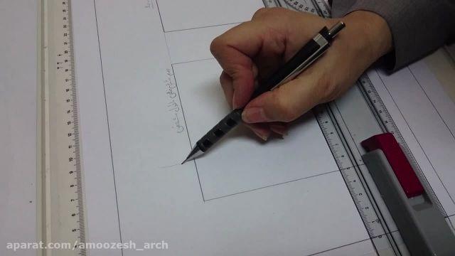 ترسیم شش ضلعی محاط بر دایره # خاتمی دوست#دوم معماری