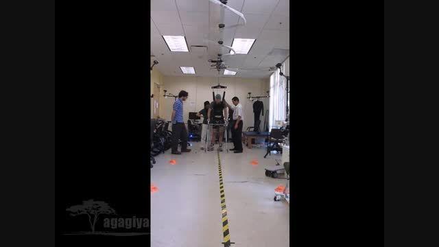 کنترل حرکت پاها توسط امواج مغزی