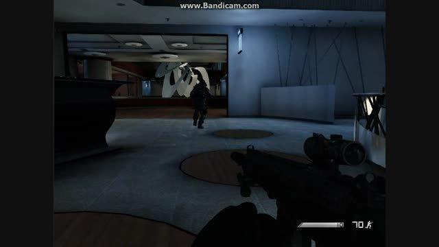 گیم پلی بازی call of duty ghosts پارت 2 (با بازی خودم)