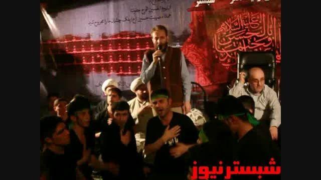 چهارمین اجتماع بزرگ مدافعان حرم-مداحی حاج مهدی ابراهیمی