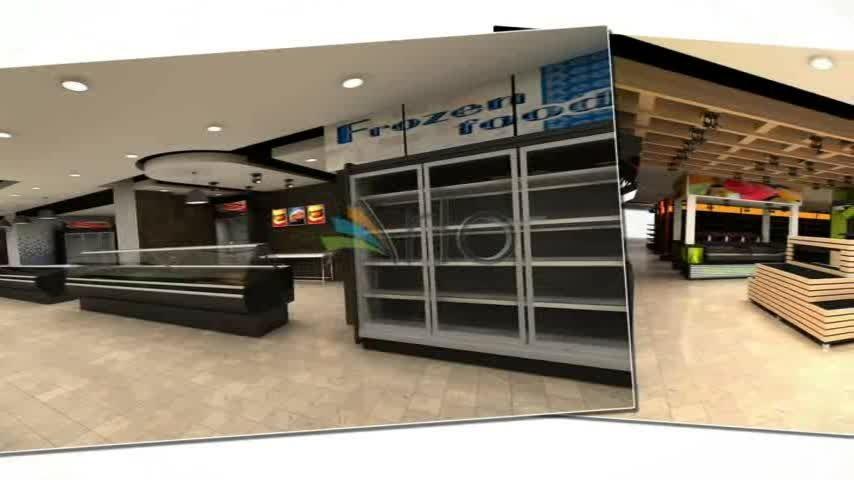 طراحی و تجهیز فروشگاه زنجیره ای حامی - ولنجک