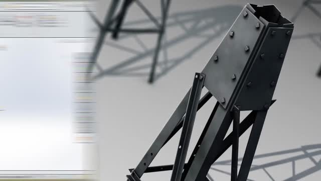 Designing a Windmill Tower from Photo Reference in Solidworks