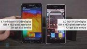 مقایسه Xperia Z2 با Galaxy Note 3