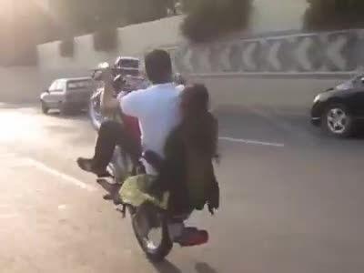 تک چرخ زدن موتور