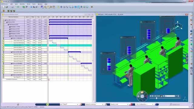 معرفی نرم افزار دلمیا Delmia ،طراحی خط تولید کارخانه