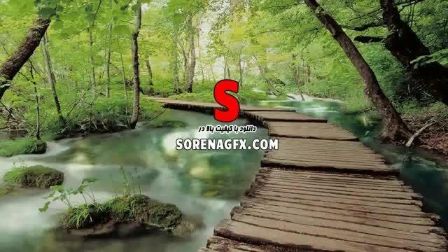 دانلود فوتیج انیمیشن با موضوع رود خانه در جنگل