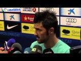 مصاحبه داوید ویا بعد از بازی با رئال سوسیداد