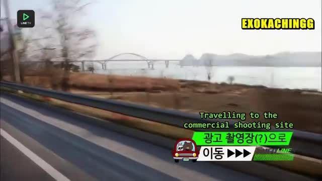 برنامه SuperLINE Exo  با حضور exo پارت اول
