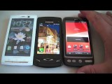 Samsung Wave S8500 Vs Desire Htc and X10i Sony Ericsson - Boot and Game Asphalt 5