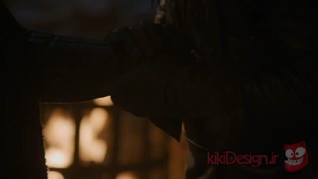 مرگ دردناک جان اسنو قسمت آخر فصل 5 سریال بازی تاج و تخت