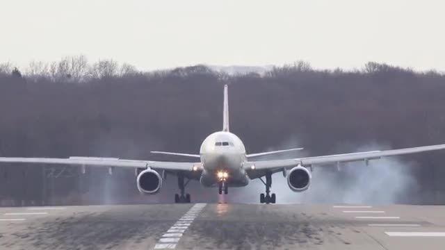 لندینگ جذاب ایرباس 330 - دنیای مستند پرواز