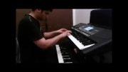 اهنگ گل گلدون به روش ساده با صدای پیانو