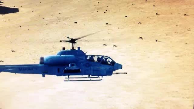 لذت پرواز با هلیکوپتر تهاجمی کبرا در شبیه ساز الماس