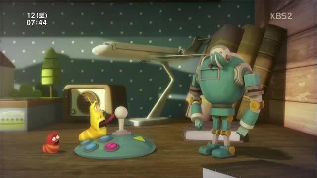 کارتون انیمیشنی لاروا - فصل دوم قسمت 2