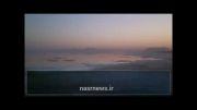 غروب دلگیر عصر جمعه دریاچه ارومیه