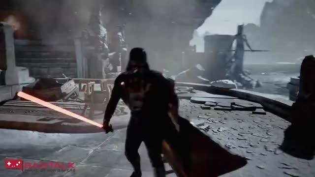 Darth Vader را در بازی Infinity Blade ببینید