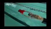 وضعیت بدن در شنای کرال پشت