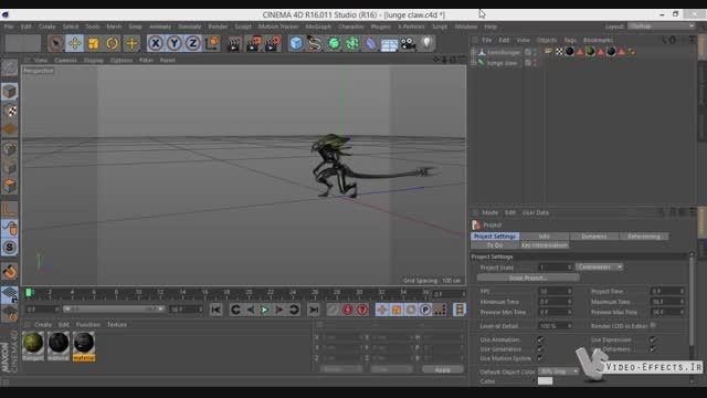 Animation In Element 3d V2