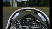 هواپیمای حرفه ای تالون یا تی 38 برای شبیه ساز پرواز