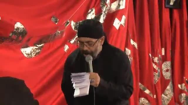واحد -حاج محمود کریمی شب تاسوعا