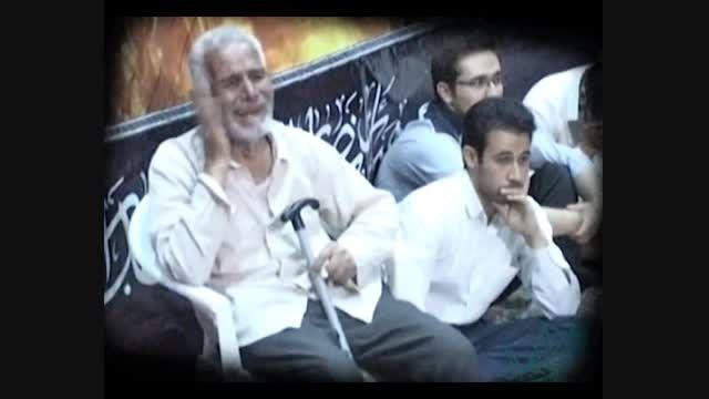 مراسم وداع با شهید امیر مسعود محمدزاده 2 - حضرت زینب(س)