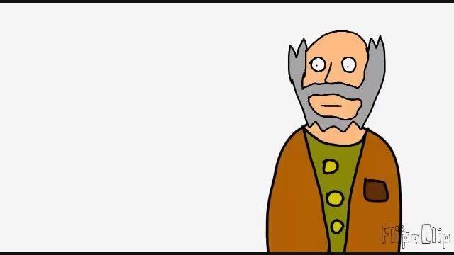 انیمیشن پیر مرد دانا (ساخت خودم) قسمت 3